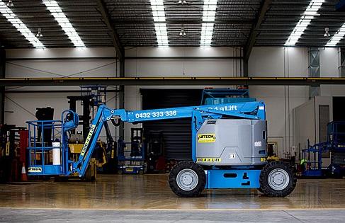 34/22 RT diesel boom lift