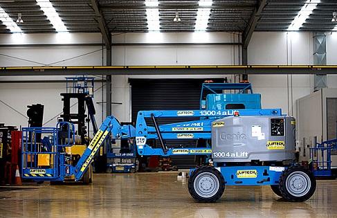 4WD diesel boom lift